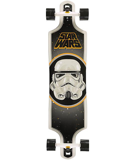 "Santa Cruz x Star Wars Stormtrooper 40""  Longboard Complete"