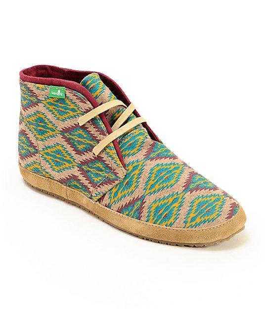 Sanuk Juniper Stone Mid Top Shoes