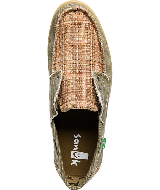 Sanuk Scurvy Carbon Sand Shoes