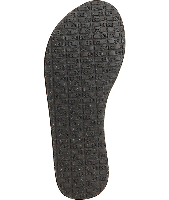 Sanuk Yoga Mat Spree Funk Brown & Camo Sandals