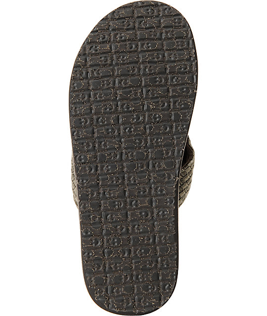 Sanuk Yogi 2 Brown Beer Cozy Sandals