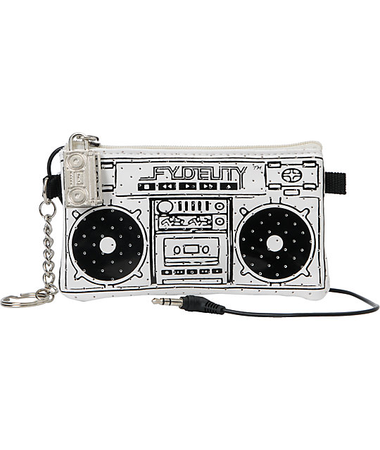 Scratch Tracks Pocito White Mini Speaker Case