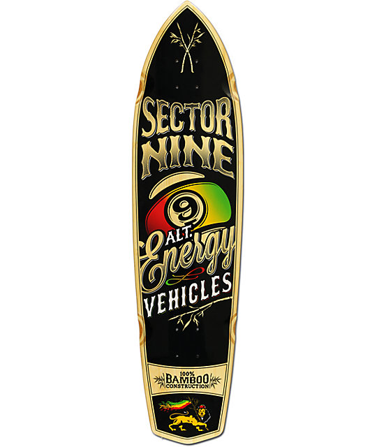 "Sector 9 A.E.V. 35.5""  Cruiser Skateboard Deck"