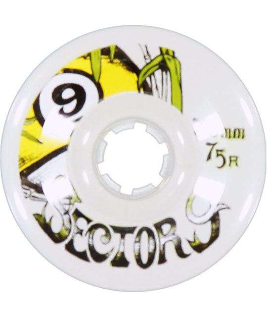 Sector 9 Bamboo 70mm Assorted Lonboard Wheels