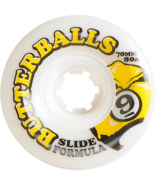Sector 9 Butterballs 70mm Slide Formula Longboard Wheels