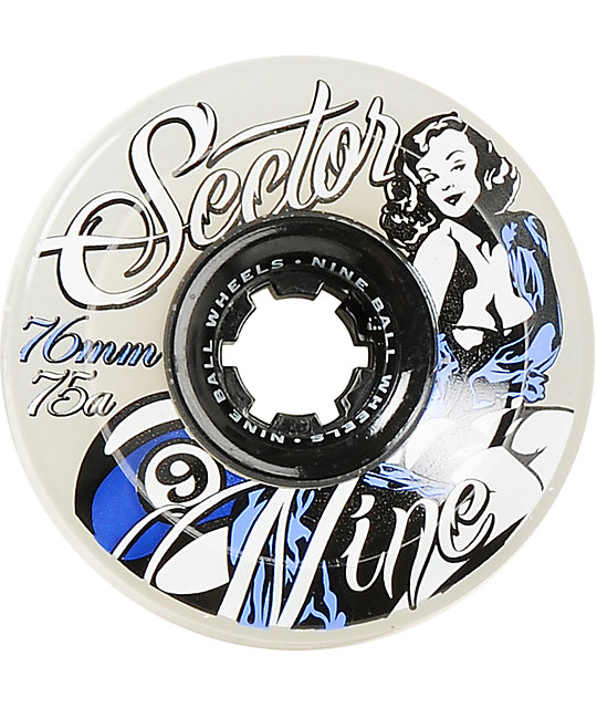 Sector 9 Goddess Of Speed 76mm Skateboard Wheels