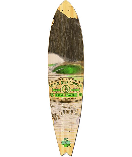 "Sector 9 Ireland 38""  Bamboo Longboard Deck"