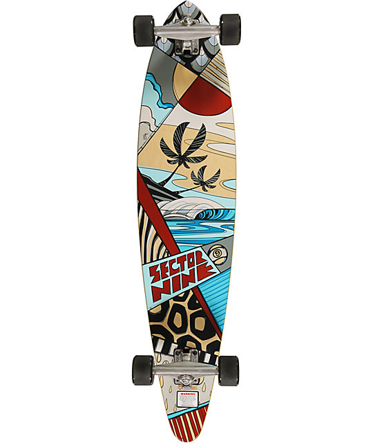 "Sector 9 Island Time 39""  Longboard Complete"