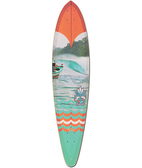"""Sector 9 Ledger 40""""  Pintail Longboard Deck"""