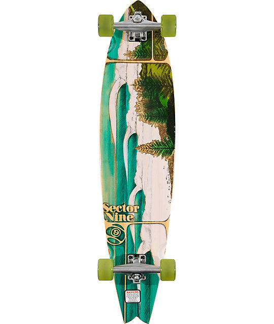 "Sector 9 Lennox 38""  Bamboo Longboard Complete"