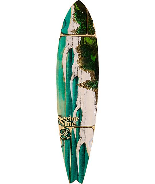 "Sector 9 Lennox 38""  Bamboo Longboard Deck"