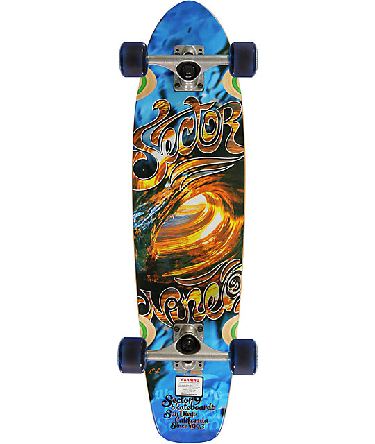 "Sector 9 Liquid Metal 31.75""  Cruiser Complete Skateboard"