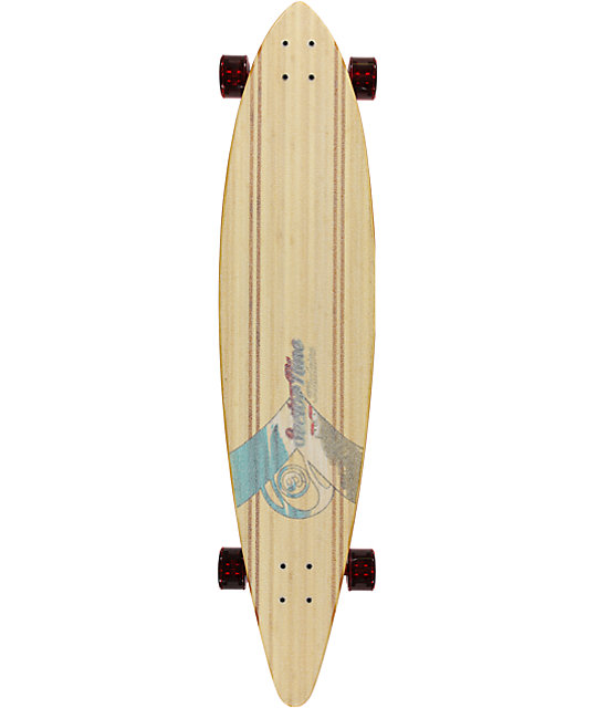 "Sector 9 Madeira 44""  Bamboo Longboard Complete"