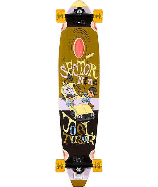 "Sector 9 Mr. Tudor Signature Pin Tail 38.3""  Longboard Complete"