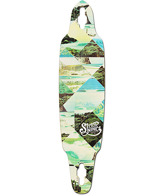 "Sector 9 Norseman 38""  Drop Through Longboard Deck"