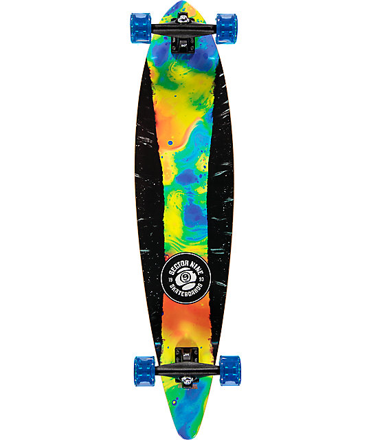 """Sector 9 Plasma 40""""  Pintail Longboard Complete"""
