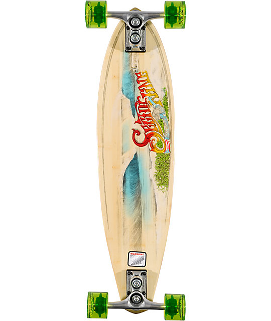 "Sector 9 Puerto Rico 31.75""  Bamboo Longboard Complete"