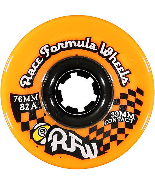 Sector 9 Race Formula Orange 76mm Skateboard Wheels