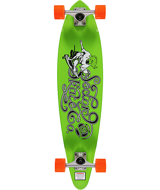 "Sector 9 The Express Green 34.5""  Longboard Complete"