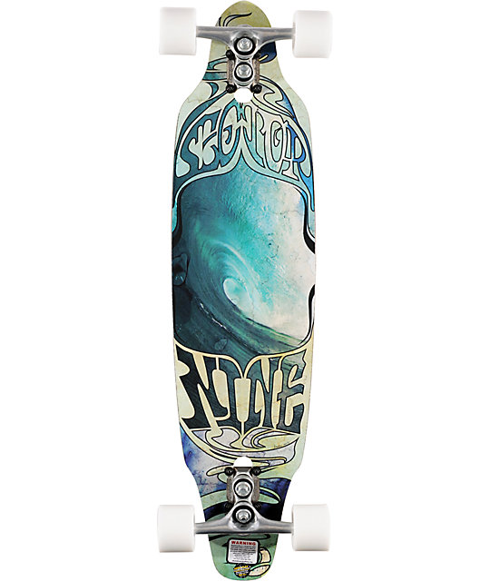 "Sector 9 The Pass 35""  Longboard Complete"