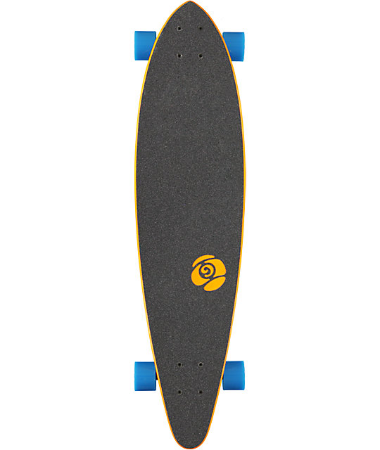 "Sector 9 The Swift Orange 34.5""  Longboard Complete"