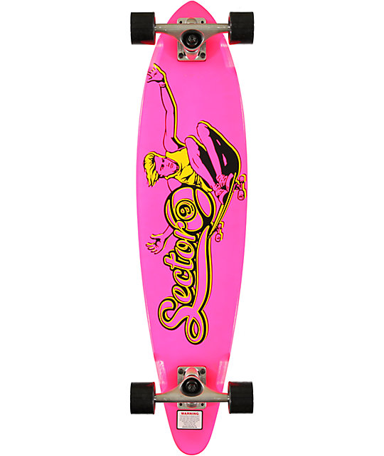 "Sector 9 The Swift Pink 34.5""  Longboard Complete"