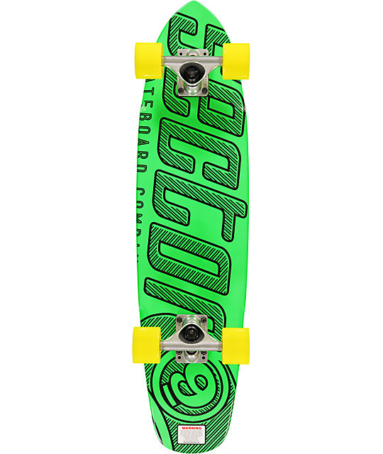 "Sector 9 The Wedge Green 31""  Cruiser Complete"