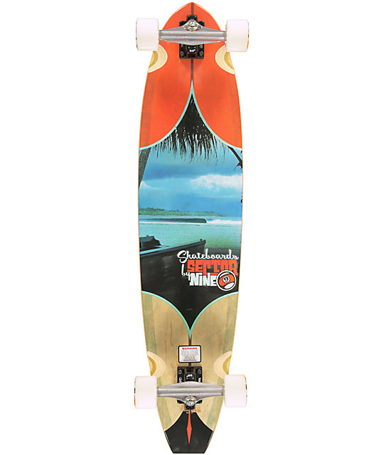 "Sector 9 Voyager 39.5""  Longboard Complete"