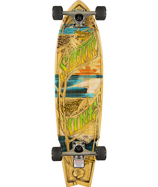 "Sector 9 West Oz 34""  Bamboo Complete Longboard"