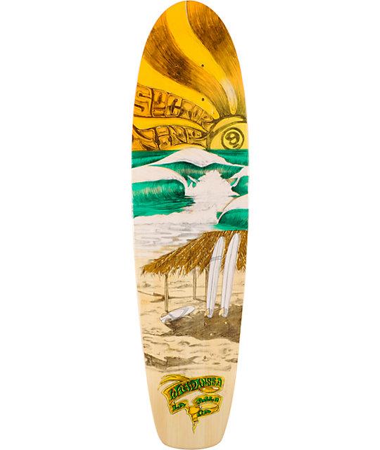 """Sector 9 Windansea 28.5""""  Bamboo Cruiser Skateboard Deck"""