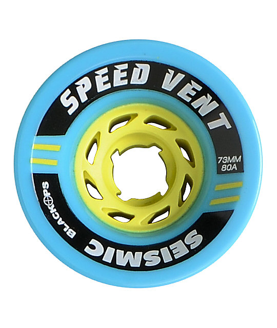 Seismic Speed Vent 73mm Longboard Wheels