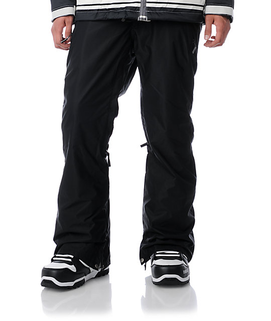 Sessions Brawl Black Snowboard Pants