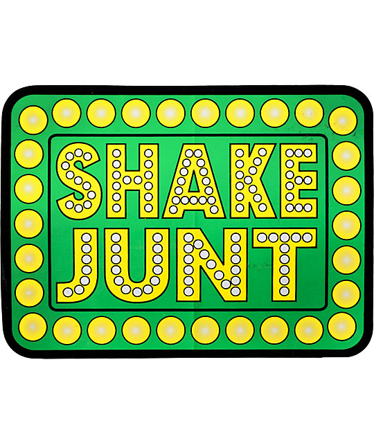 Shake Junt 5.5 Green Sticker