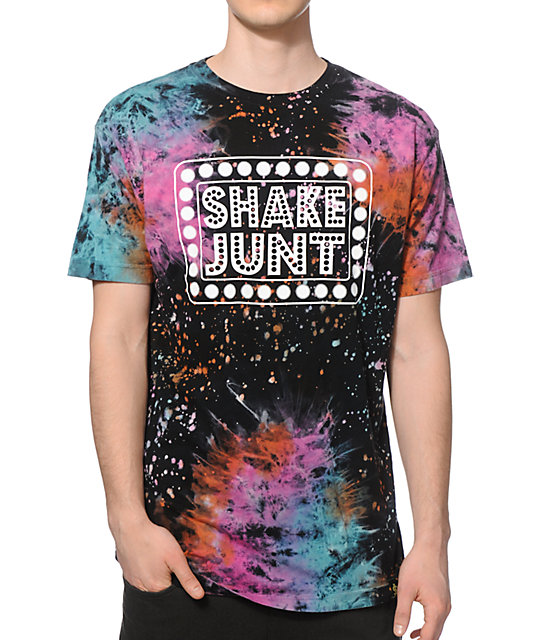 Shake Junt Box Logo Galaxy T-Shirt