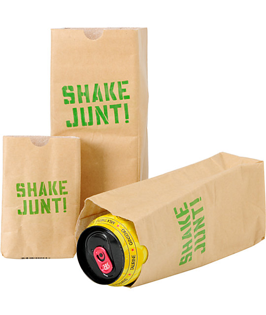 Shake Junt Brown Bag Three Pack Coozie
