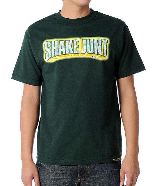 Shake Junt Stuntin Green T-Shirt