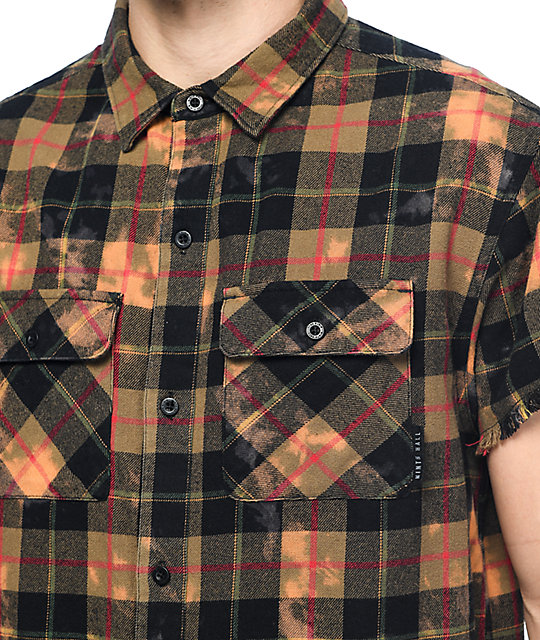 Show your muscles in a new way with the pablo flannel for How to cut sleeves off a shirt
