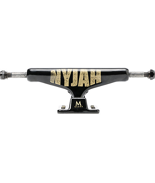 Silver Nyjah Bold M-Class 8.0 Skateboard Truck