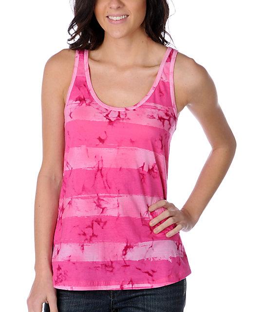 Sirens & Dolls Rachel Rugby Pink Tank Top
