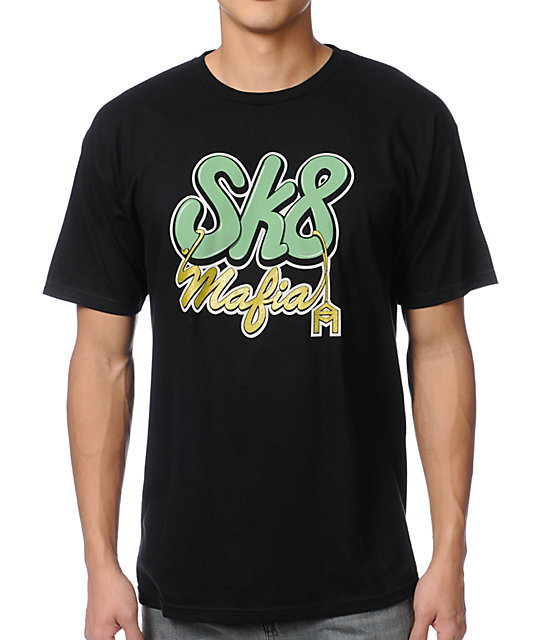 Sk8Mafia Chain Gang Black T-Shirt