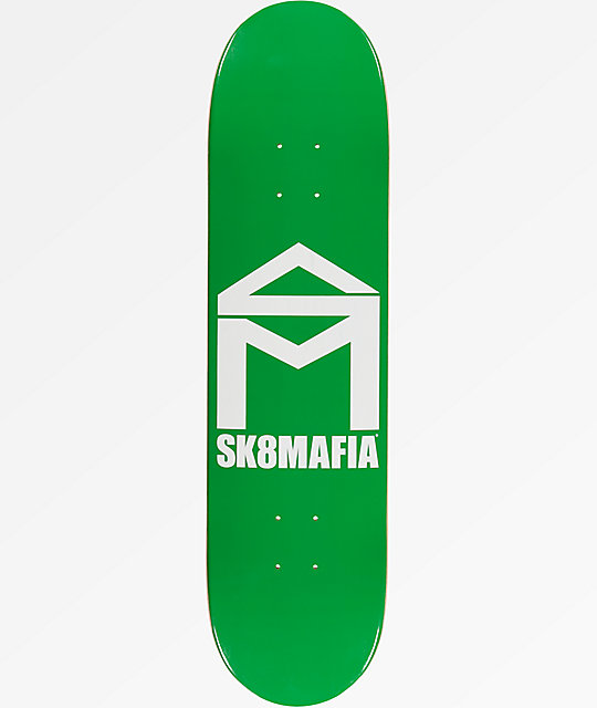 "Sk8Mafia House Logo 7.9"" Skateboard Deck"