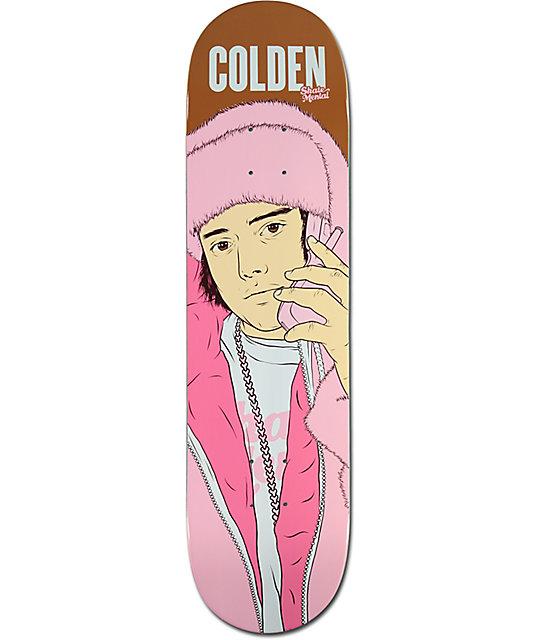 """Skate Mental Colden All Pink Everything 8.0""""  Skateboard Deck"""