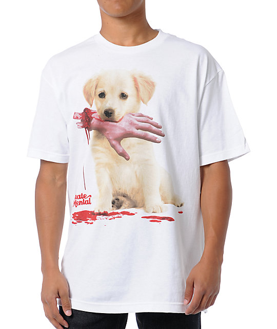 Skate Mental Good Boy White T-Shirt