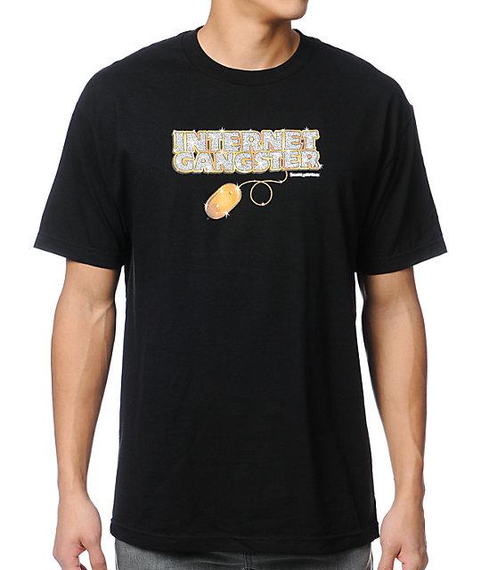 Skate Mental Internet Gangster Black T-Shirt