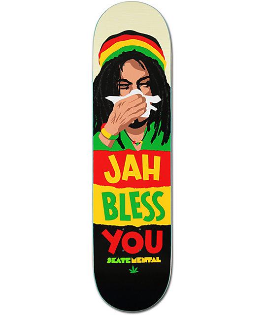 Skate Mental Jah Bless You 8.0