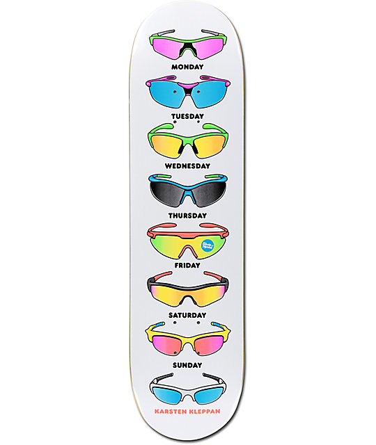"Skate Mental Kleppan Sunglasses 8.12"" Skateboard Deck"