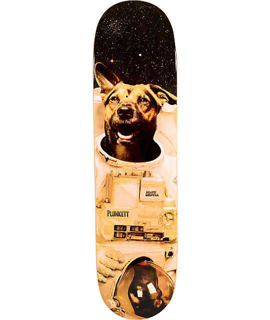 "Skate Mental Mans Best Friend Plunkett 8.125""  Skateboard Deck"