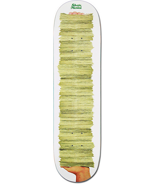 Skate Mental Money Grip 8.12