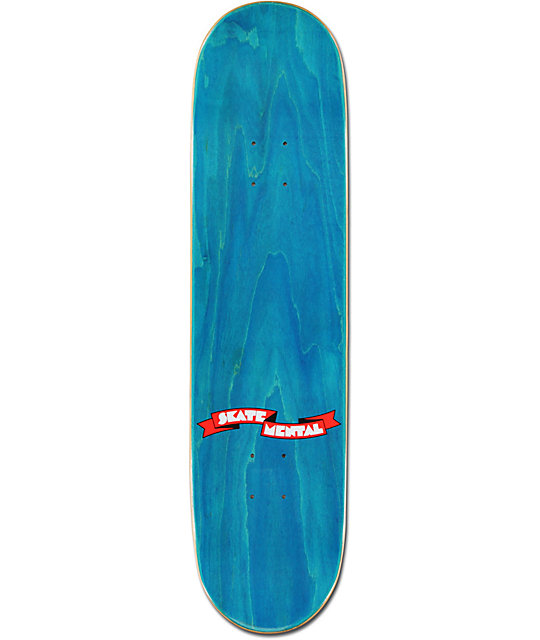 "Skate Mental Money Grip 8.12""  Skateboard Deck"