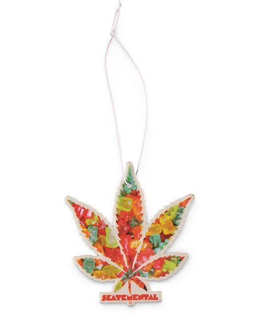 Skate Mental Pattern Leaf Air Freshener